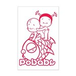 Pobaby Mini Poster Print