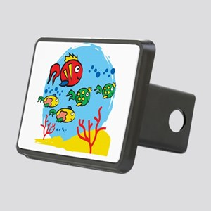 FISH AQUARIUM Rectangular Hitch Cover
