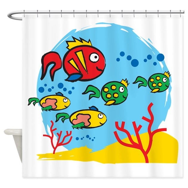 fish shower curtain fish aquarium shower curtain by xlcomunicazione 10383