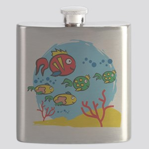 FISH AQUARIUM Flask