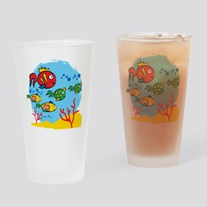 FISH AQUARIUM Drinking Glass