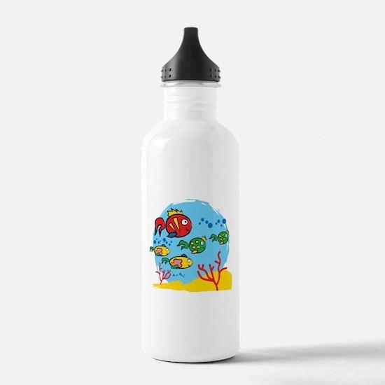 FISH AQUARIUM Water Bottle