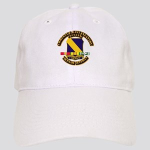Army - Company F, 51st Infantry w SVC Ribbons Cap
