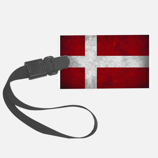 Denmark flag Luggage Tag