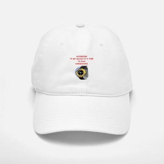 horseshoes Baseball Baseball Baseball Cap
