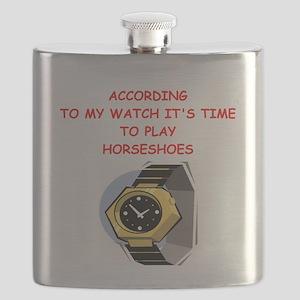 horseshoes Flask