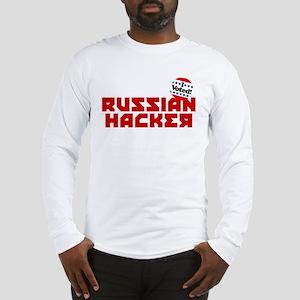 Russian Hacker Long Sleeve T-Shirt