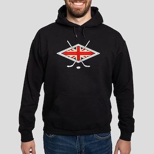 British Ice Hockey Flag Hoodie