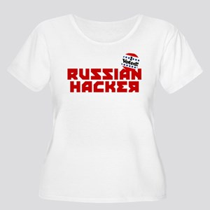 Russian Hacke Women's Plus Size Scoop Neck T-Shirt