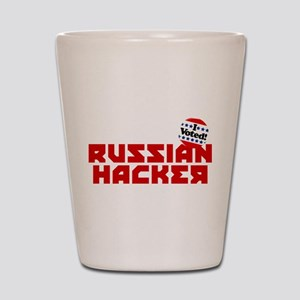 Russian Hacker Shot Glass