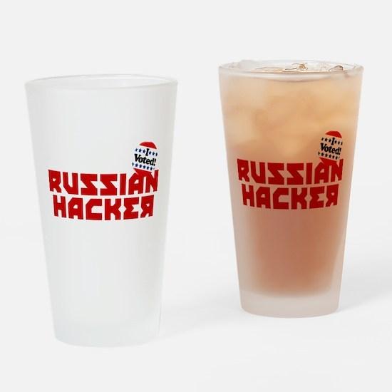 Russian Hacker Drinking Glass