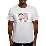 Pobaby Ash Grey T-Shirt