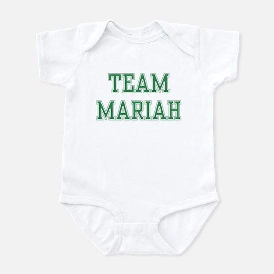 TEAM MARIAH  Infant Bodysuit