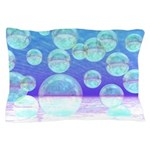 Frosty Clarity Abstract Pillow Case