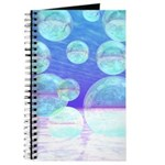 Frosty Clarity Abstract Journal