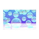 Frosty Clarity Abstract 35x21 Wall Decal
