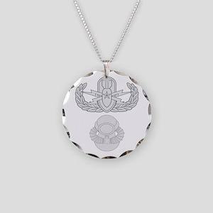 Senior EOD SCUBA Necklace Circle Charm