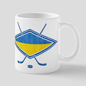 Ukrainian Ice Hockey Flag Mug