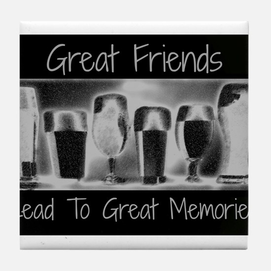 Great friends Tile Coaster