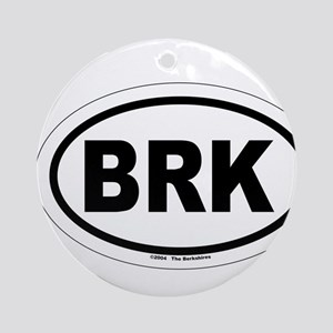 BRK - The Berkshires MA Ornament (Round)