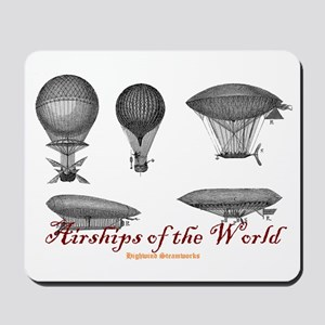 Airships of the World Mousepad
