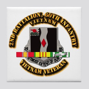 Army - 2nd Battalion, 60th Infantry Tile Coaster