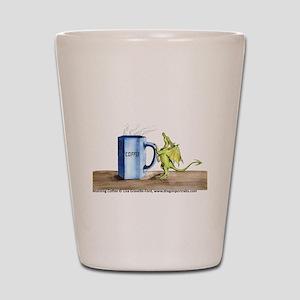 Morning Coffee Shot Glass
