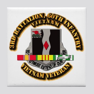 Army - 3rd Battalion, 60th Infantry Tile Coaster