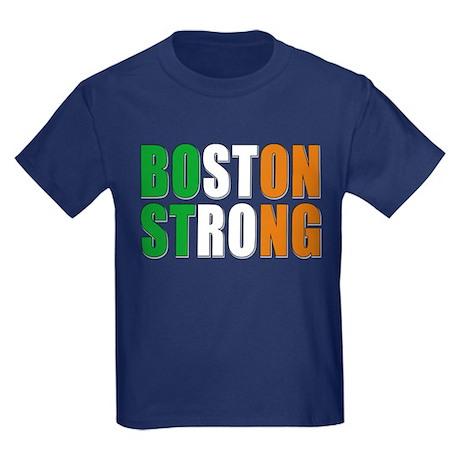 Irish Boston Pride Kids Dark T-Shirt