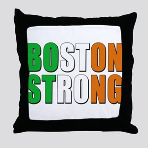 Irish Boston Pride Throw Pillow