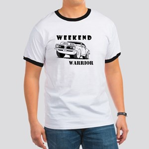 Weekend Warrior at the Drags T-Shirt