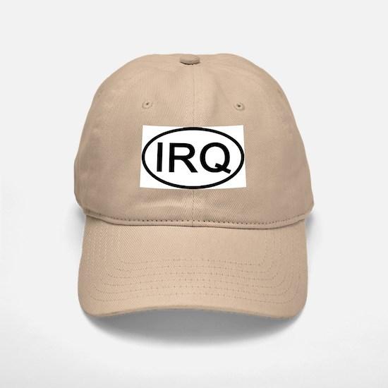 Iraq - IRQ Oval Baseball Baseball Cap