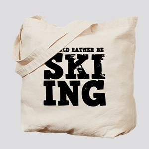 'Rather Be Skiing' Tote Bag