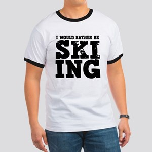 'Rather Be Skiing' Ringer T