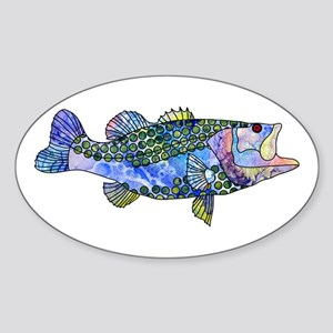 Wild Bass Sticker