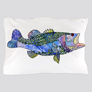Wild Bass Pillow Case