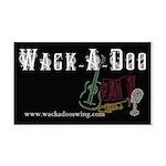 Wack-A-Doo Rectangle Car Magnet