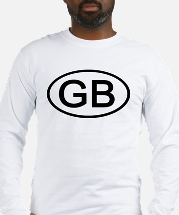 Great Britain - GB Oval Long Sleeve T-Shirt