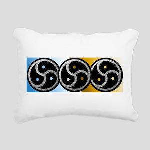 BDSM Symbol - Emblem Rectangular Canvas Pillow