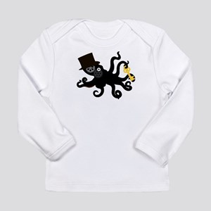 Steampunk Octopus Long Sleeve T-Shirt