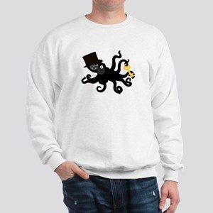 Steampunk Octopus Sweatshirt
