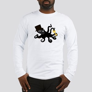 Steampunk Octopus Long Sleeve T-Shirt