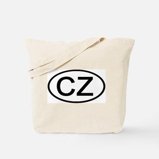 Czech Republic - CZ Oval Tote Bag