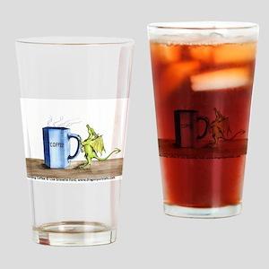Morning Coffee Drinking Glass