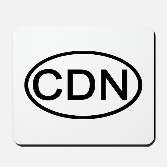 Canada - CDN Oval Mousepad