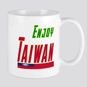 Enjoy Taiwan Flag Designs Mug