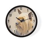 Silky Terrier Wall Clock