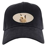Silky Terrier Black Cap with Patch