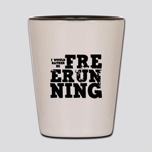 'Free Running' Shot Glass