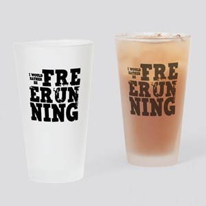 'Free Running' Drinking Glass